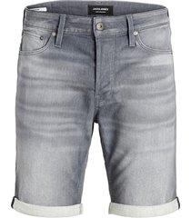 jack & jones jeans short 12166268 005 grey rick - denim