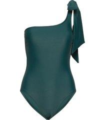 capri swimsuit baddräkt badkläder grön missya