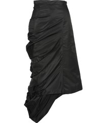 y/project ruched asymmetric skirt