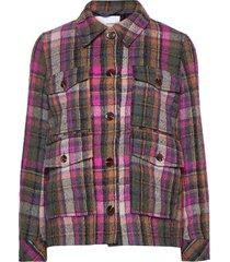 agathe jacket 12897 ulljacka jacka multi/mönstrad samsøe samsøe