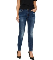skinny fit jeans vmlydia lage taille