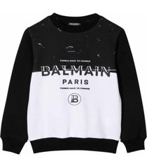 balmain cotton sweatshirt