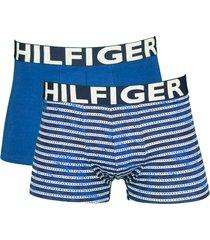 tommy hilfiger boxershort son 2-pak blue print
