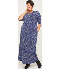 easy horizon fit & flare maxi dress (with pockets)