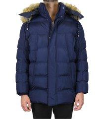 galaxy by harvic men's heavyweight parka jacket with detachable hood