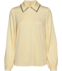 drea blouse lange mouwen geel custommade
