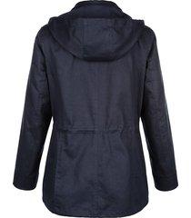 jacka av 100% bomull dress in marinblå