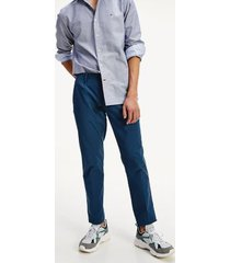tommy hilfiger men's straight fit chino midnight navy - 31/34
