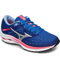 wave rider 24 shoes sport shoes running shoes blå mizuno