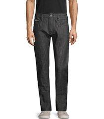cult of individuality men's rocker slim-fit jeans - black - size 29