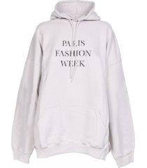 balenciaga balenciaga print hoodie