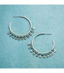 wax & wane hoop earrings