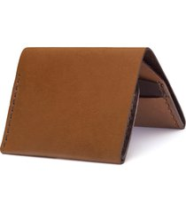 ezra arthur no. 4 leather wallet in whiskey at nordstrom