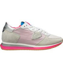 scarpe sneakers donna camoscio trpx