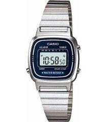 reloj  la-670wd-2d casio -gris