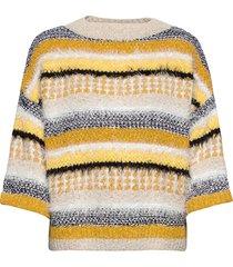 rodebjer giza stickad tröja multi/mönstrad rodebjer