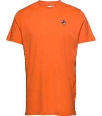 men seamus tee ss t-shirts short-sleeved orange fila