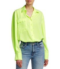 aviel scalloped blouse