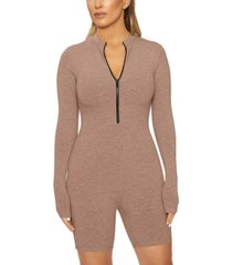 naked wardrobe snatched won't you zip it romper