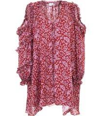 magda butrym printed zagreb dress