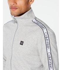 calvin klein men's zip-front sweatshirt