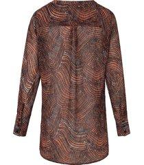 blouse van comma, multicolour