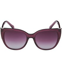 54mm oversized cat eye sunglasses