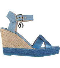 trussardi jeans sandals