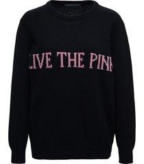 alberta ferretti blackl bohemian life sweater