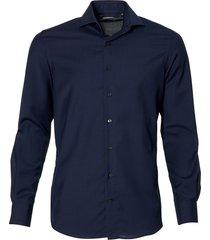 jac hensen premium overhemd - slim fit -blauw
