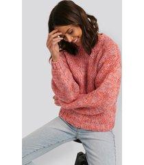 defacto chunky tröja - pink