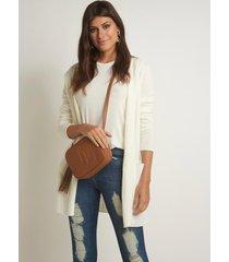 casaco le lis blanc bianca tricot off white feminino (off white, gg)