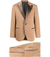 brunello cucinelli two-piece formal suit - neutrals