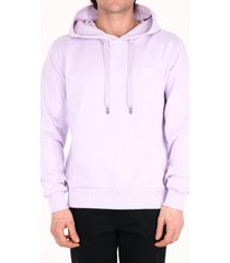 dolce & gabbana cotton hoodie purple