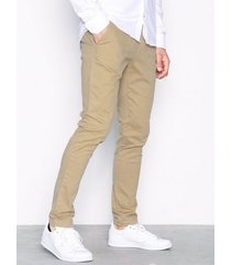 tailored originals pants - rainford byxor beige