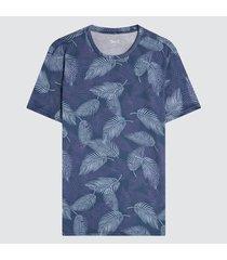 camiseta para hombre hojas hawaianas