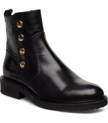 boots 3526 shoes boots ankle boots ankle boot - flat svart billi bi