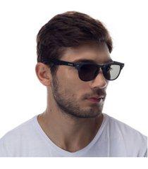 óculos de sol oxer 540902wdsd - unissex - cinza escuro