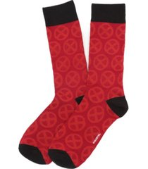 men's x-men symbol socks