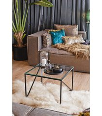 gwen - finezyjny stolik ze szklanym blatem