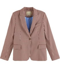 blazer classic tailored bordeaux