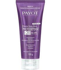 protetor solar facial payot photodéfense fps20