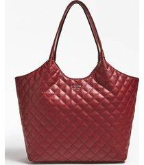 pikowana torba typu shopper z wewnętrzną kieszenią model miriam