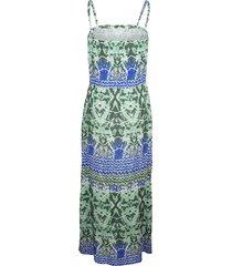 strandklänning sunflair grön/turkos