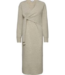silvia dress maxiklänning festklänning grå designers, remix