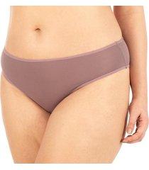 calcinha básica dry air rose - 580.023 marcyn lingerie básica marrom