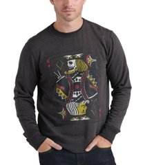 lucky brand men's graphic sweatshirt