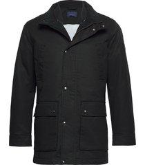 d1. the double decker parka jas zwart gant