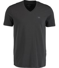 armani exchange t-shirt slim fit met stretch 8nzt85.z8m9z/09an