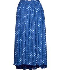 libra skirt knälång kjol blå lollys laundry